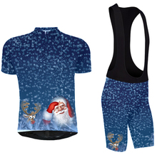 2015 Latest Christmas cycling clothes sports shirts breathable quick-drying Christmas shirt Custom team clothing