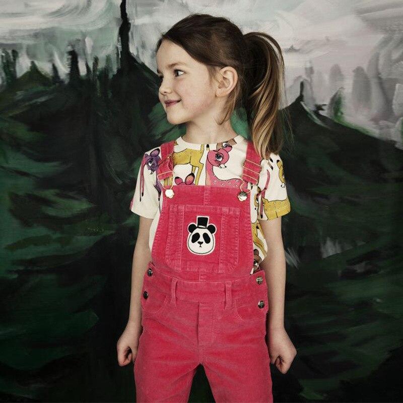 T-shirt met korte mouwen Girls Kids 2018 Zomer katoenen cartoon - Kinderkleding - Foto 5