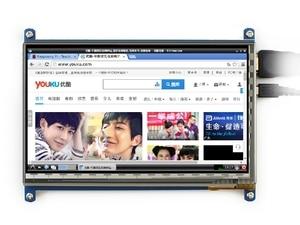 Image 4 - 7นิ้วราสเบอร์รี่piหน้าจอสัมผัส800*480 7นิ้วแบบCapacitive Touch Screen LCD,อินเตอร์เฟซHDMIรองรับระบบต่างๆ