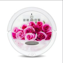 rose robotic  vacuum cleaner ,AUTO anti-falling li-battery  self-chage dommy wall ultrasonic wave and sterillization