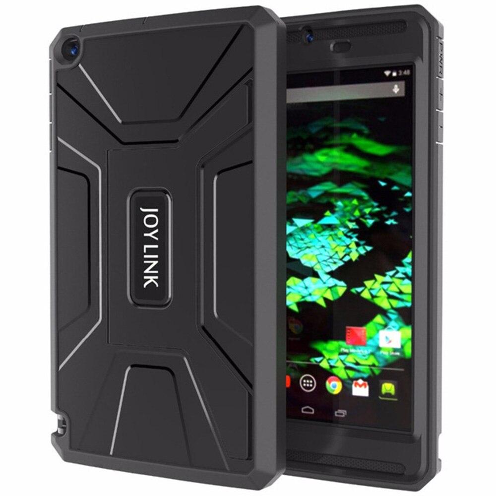 Joylink caso capa armadura para nvidia escudo tablet k1 embutido protetor de tela robusto híbrido tablet suporte para nvidia 8.0