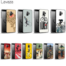 Lavaza BIKE CYCLING art Soft Case for Galaxy A3 A5 2016 2017 A6 plus A7 A8 A9 J6 2018 A10 30 40 50 70(China)