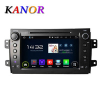 2 Din Suzuki SX4 Android 4 4 Car Dvd Player With GPS Navigation 8 Inch Capacitive