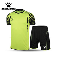 KELME 2016Cheap Soccer Jersey Completi Calcio Training Uniform Set Survetement Chandal Futbol Men Sport Summer Champion
