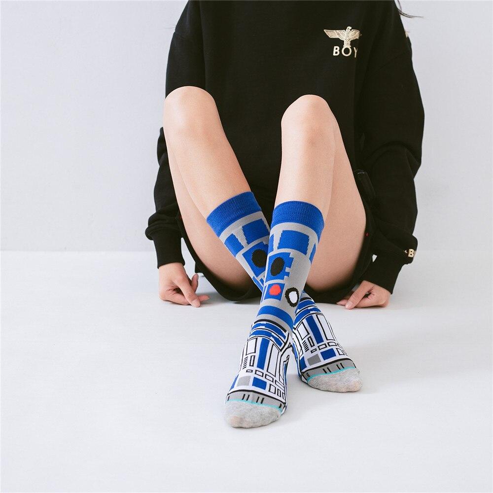 NEW Men   socks   Hot Movie Star Wars   Socks   For Adult Men Women Jedi Order Master Yoda Cosplay Cotton Funny Tide Long Star War   Socks