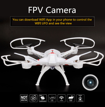 WIFI FPV Quadcopter RC Quadcopter Remote Control Helicopter WIFI Phone Control Headless Mode Drone Follow with 2.0MP HD Camera