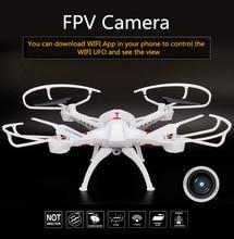 2017 WIFI FPV Quadcopter RC Quadcopter Télécommande Hélicoptère WIFI Téléphone Contrôle Sans Tête Mode Drone Avec 2.0MP HD Caméra