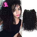 Hot Fashow Hair Malaysian Curly Hair Deep Wave Malaysian Deep Virgin Hair 4pcs Lot 100% Human Hair Weave Bundles 8- 30 inches