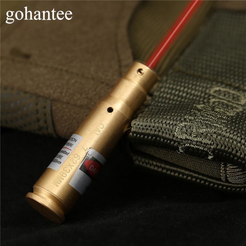 gohantee Hunting Boresighter Red Dot CAL: .7.62 x39 Cartridge Caliber Laser Bore Sight Boresighter Sighter for Rifles/Pistol/Gun