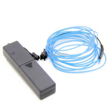 3M 2.3mm el wire+ + 3v AAA Sound Activated Battery Inverter+ Mix Order Available