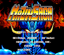 Mazin Saga 16 bit MD Game Card For Sega Mega Drive For Genesis