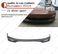 Car Accessories Carbon Fiber GMT Style Front Lip Fit For 2010-2013 Panamera 970 Front Bumper Lower Splitter Lip