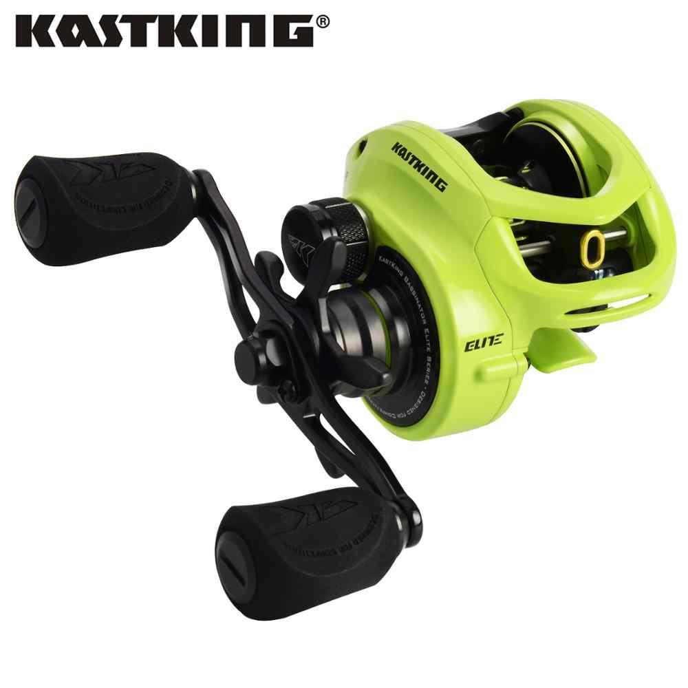 KastKing Bassinator Elite Baitcasting moulinet de pêche 8 kg/17.65LB glisser 10 + 1 roulements à billes 6.6: 1/8. 1:1 engrenage Ratito bobine de pêche