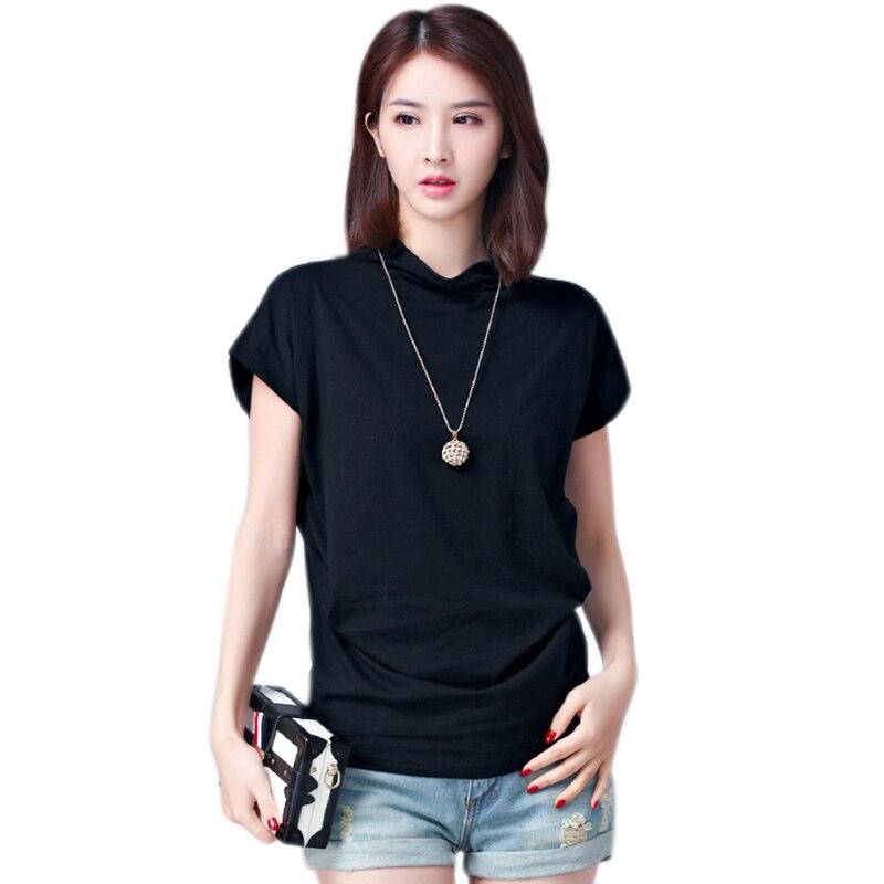Summer 2019 Cotton T Shirt Women T Shirt Short Sleeve Basic Tshirt Kawaii Tops Casual Slim Tee Shirt Femme Camiseta Feminina in T Shirts from Women 39 s Clothing