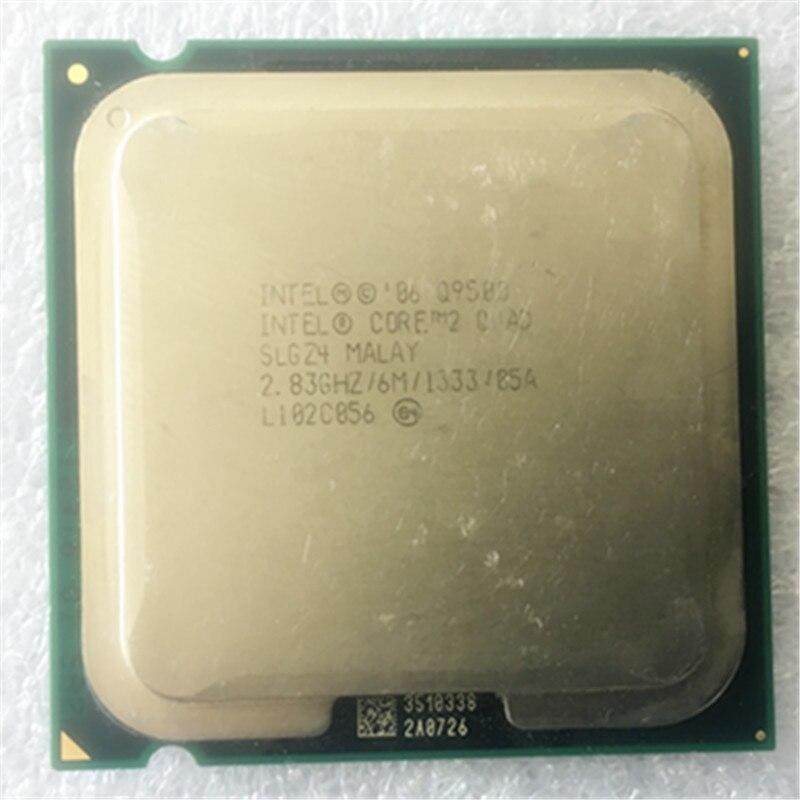 INTEL core2 q9500 Quad core Processor (2.83GHz /6MB Cache /FSB 1333 ) Intel Q9550/Q9650 series LGA775 quad core Cpu