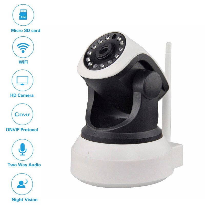 HD 720P 960P Wifi IP Camera Onvif Network CCTV Infrared IR-cut Night Vision Wireless Mini Baby Monitor Surveillance Security Cam