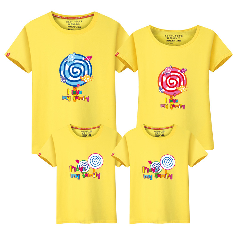 New Maternity T-shirts Family Look Baby Bodysuits 0-24m Short Sleeve Tees Tops Matching Family Cotton Casual T Shirts Mama Daddy Mother & Kids