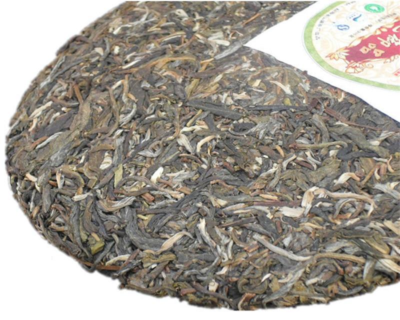 Yunnan Pu er tea raw seven cakes 200g organic pu erh tea black premium arbor old tree Chinese handmade pu er puer tea shen sheng