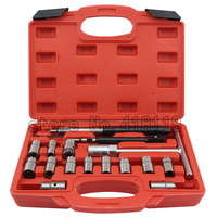 17 TOOLS DIESEL ENGINE INJECTOR CLEANER CLEAN CARBON SEAT CUTTER CUTTING SET