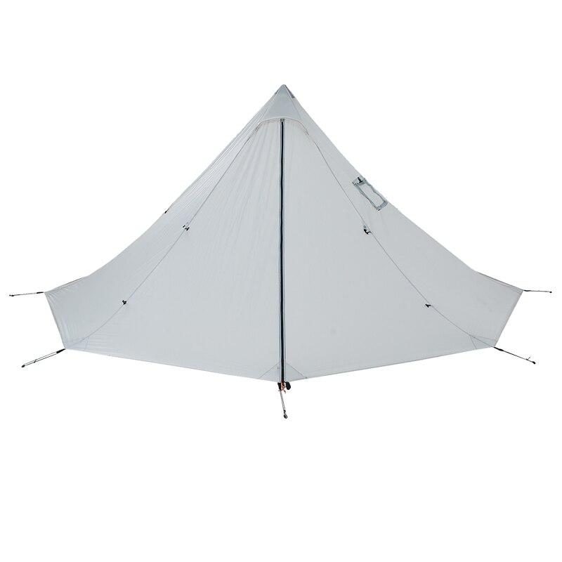 Открытый двойной тент Сверхлегкий 2 человек с подогревом укрытие для авантюристов Пешие прогулки Кемпинг 3 сезон палатка подходит для 2 человек - 3