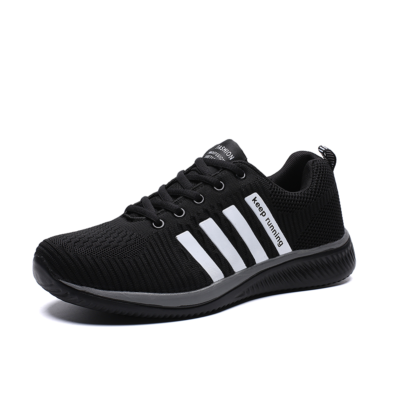 HTB1U6sMRpYqK1RjSZLeq6zXppXac 2019 Fashion Men Casual Shoes Lac up Men Mesh Shoes Lightweight Comfortable Breathable Walking Sneakers Tenis Feminino Zapatos