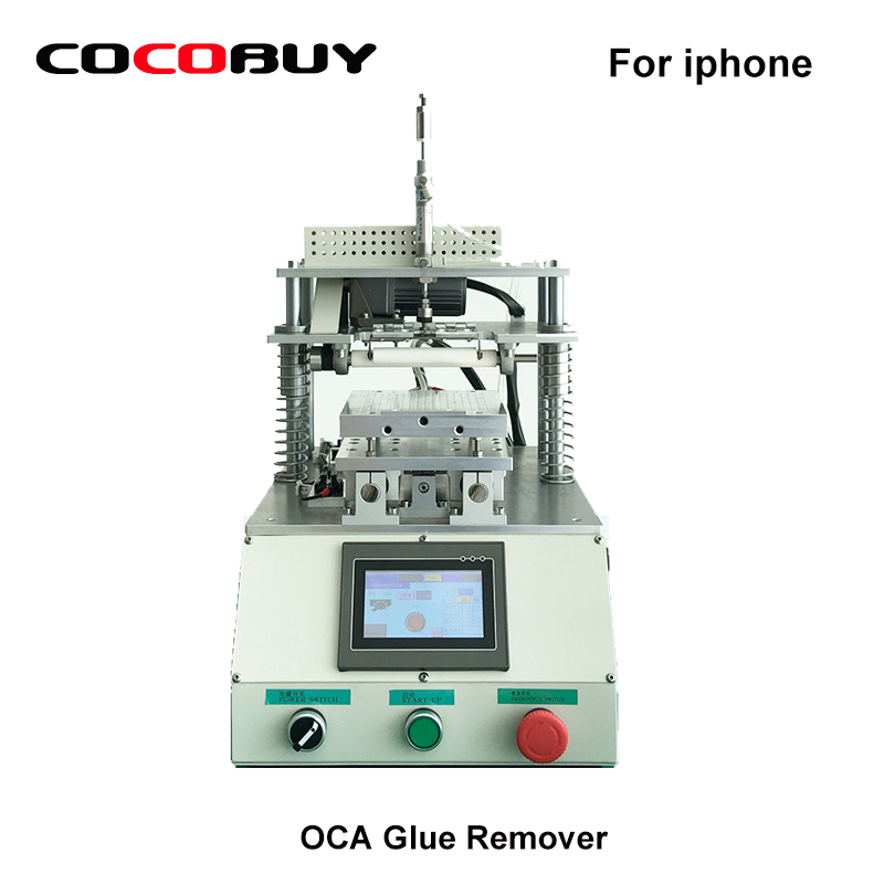 Novecel Полностью Автоматическая ОСА клея удаления машины/сенсорный ЖК экран клей для удаления для мобильного телефона отреставрировать
