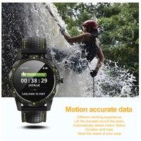 men waterproof SKY 1 Smart Watch Men IP68 Waterproof Heart rate Activity Fitness Tracker Smartwatch Clock for android apple phone (4)