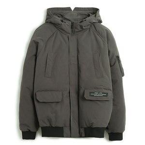 Image 1 - Pioneer camp novos homens jaqueta de inverno marca roupas moda grosso quente casaco masculino de alta qualidade parka masculino preto verde amf801453