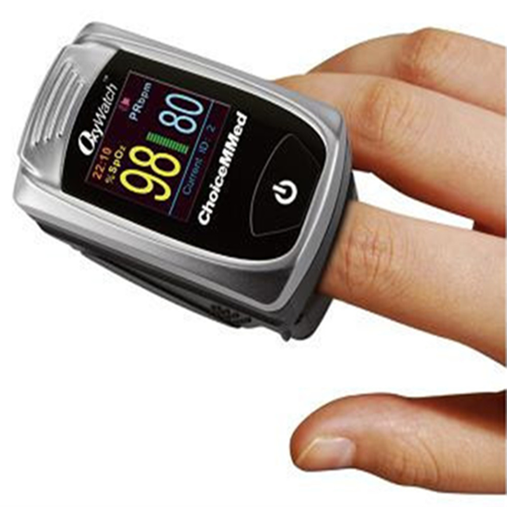 1pcs ChoiceMMed Fingertip Pulse Oximeter with 5 Users Memory