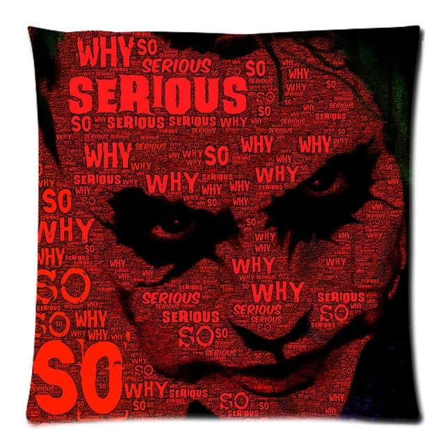 Aliexpress Buy Joker Cushion Cover Peach Skin Throw Pillow