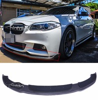 for F10 HM styling carbon fiber bumper front lip spoiler for BMW F10 M sport M tech bumper 2012 UP