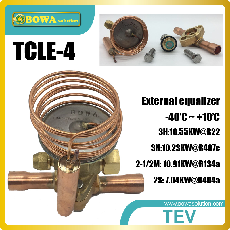 3RT cooling capacity thermostatic expansion valve replace Saginomiya ATX expansion valves (TX valve, TEV, TXV) 26rt cooling capacity thermostatic expansion valve is suitable for water chiller or heat pump equipments r410a txv avaliable