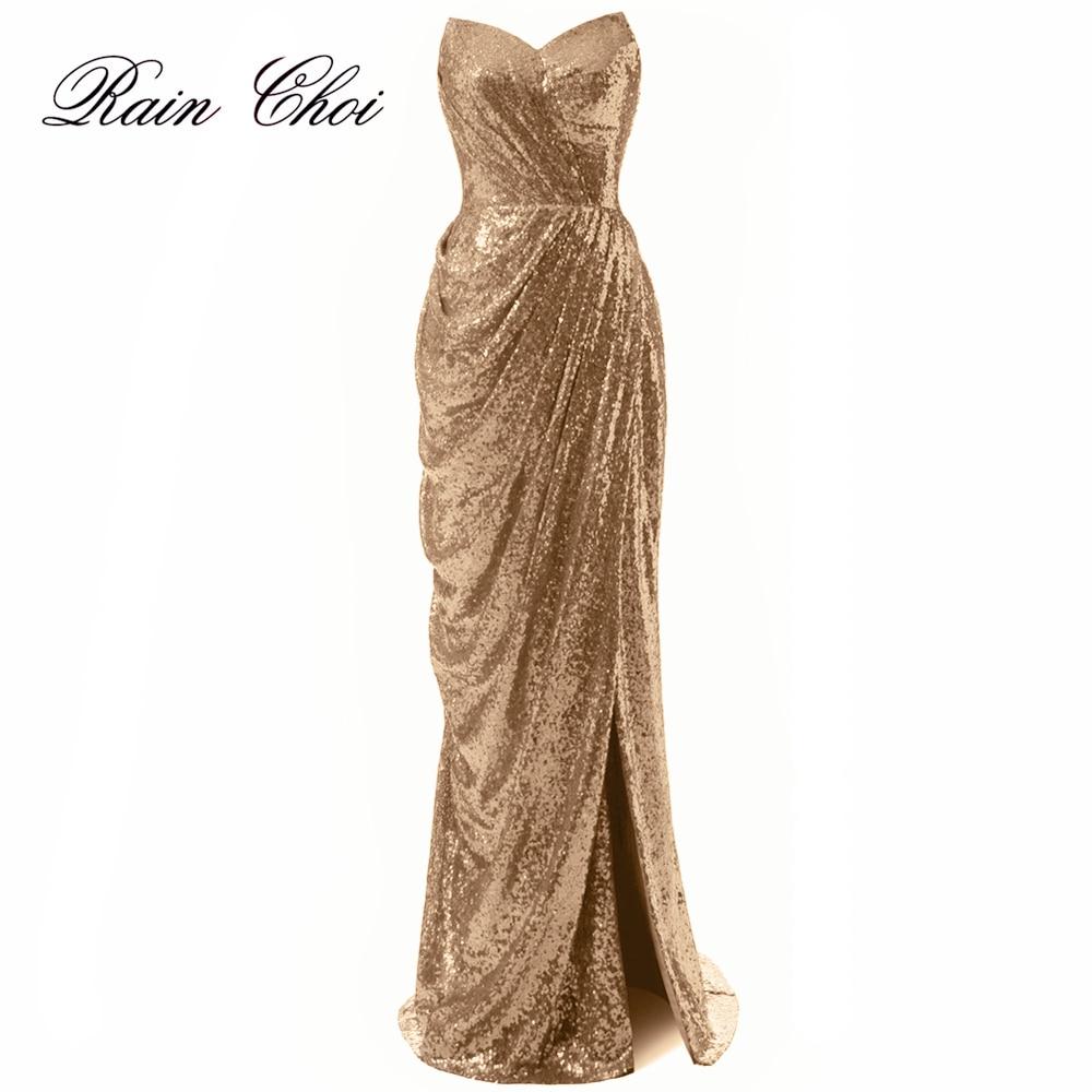 Večernja haljina sa šljokicama Sweetheart Split sirena večernje - Haljina za posebne prigode - Foto 1