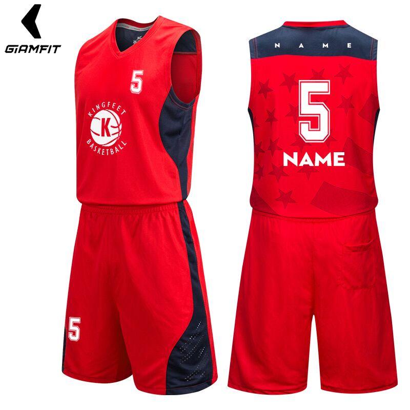 20375d8dd DIY Men Jerseys Basketball Cheap Basketball Uniforms Sets Sleeveless Shirt  Team Training Sport Jerseys Quick Dry