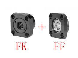 30 комплектов (Fixed Side fk10 + плавающий Сторона ff10) ШВП Конец Поддержка подшипники