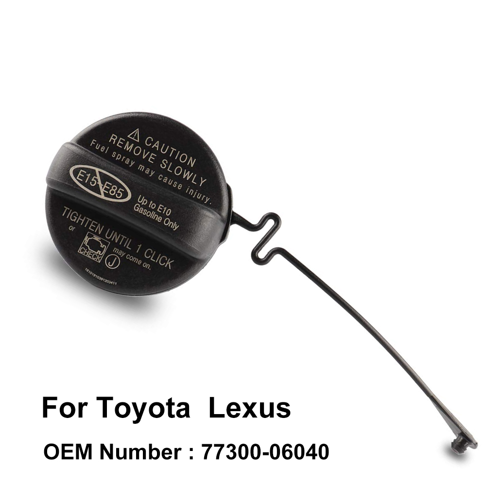 TOYOTA FUEL TANK CAP ASSEMBLY 7730033070 OEM Corolla and Highlander and camry
