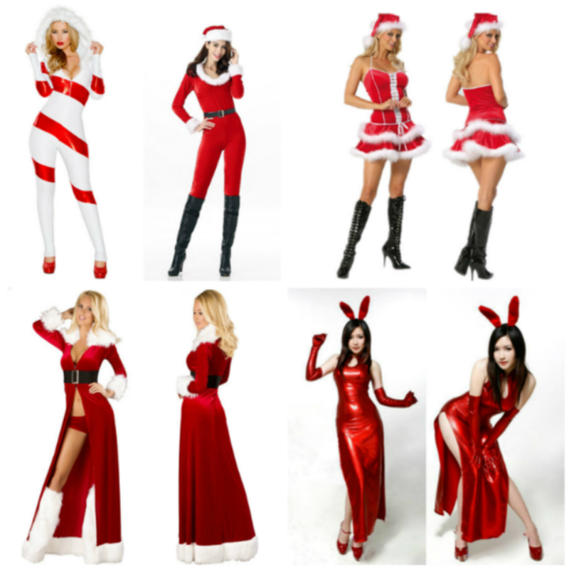 Dress Jumpsuit Cosplay for Christmas Party 6 Styles Little Red Beautiful Girl Role Play Adult Costume Holiday Carnaval Halloween