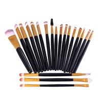 O TWO O Professional Makeup Brush Set 20pcs Powder Foundation Blush Lips Eyeshadow Eyeliner Brush 3