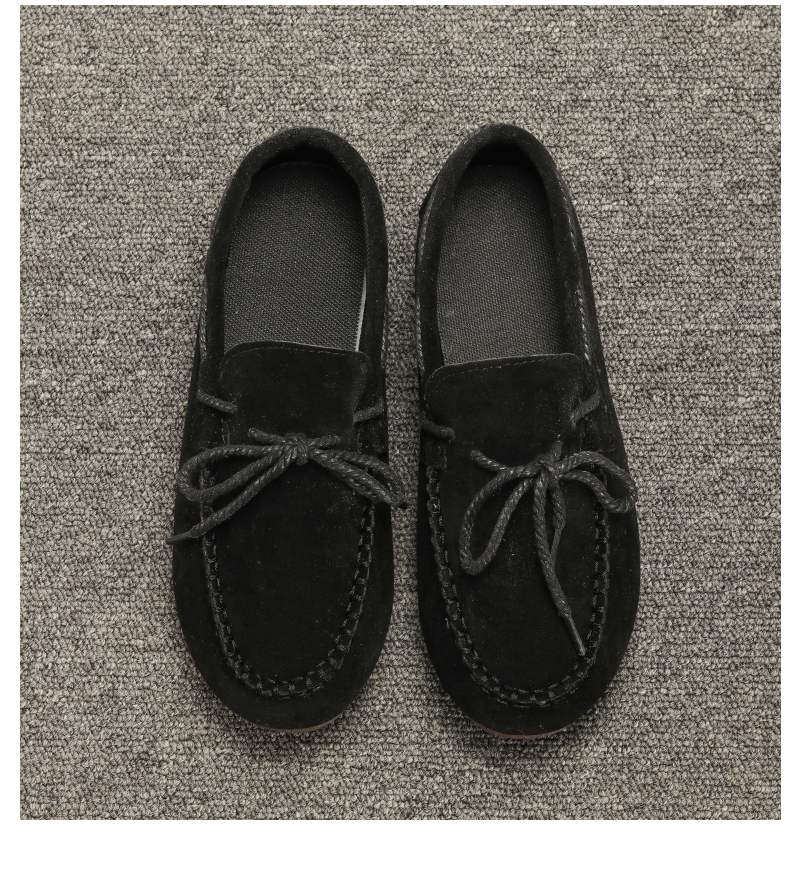 Moccasin womens four colors autumn soft brand top quality fashion suede casual loafers #WX810401 102 Online shopping Bangladesh