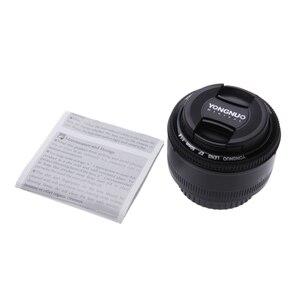 Image 5 - YONGNUO YN50mm YN50 F1.8 عدسة الكاميرا EF 50 مللي متر AF MF العدسات لكانون المتمردين T6 EOS 700D 750D 800D 5D مارك II IV 10D 1300D Yongnuo