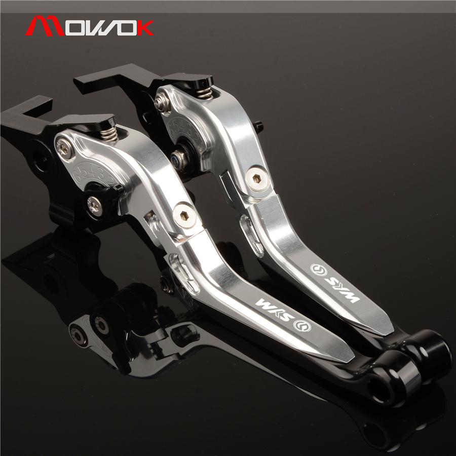 For Sym MAXSYM 400 400i 600 600i max Motorcycle cnc Aluminum Ajustable Foldable Clutch brake levers