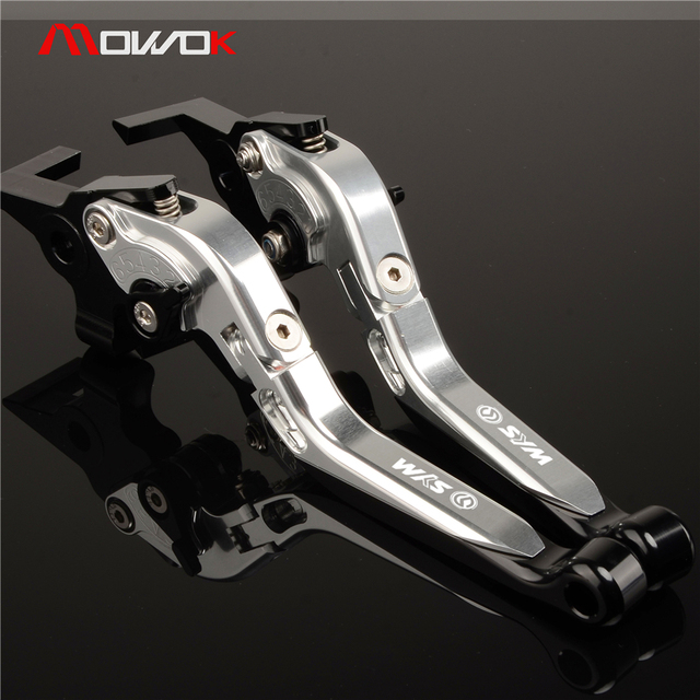 US $38 09 11% OFF|For Sym MAXSYM 400 400i 600 600i max Motorcycle cnc  Aluminum Ajustable Foldable Clutch brake levers -in Levers, Ropes & Cables  from