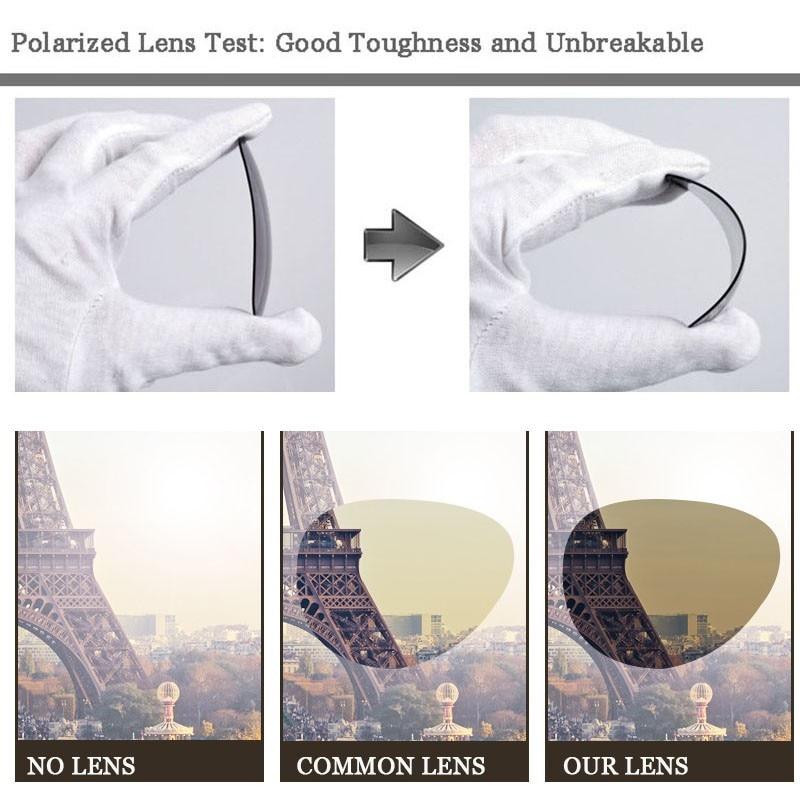 0caa27d7d1 VEGA Aluminum Magnesium Alloy Frame Polarized Day Night Sunglasses Women  Men HD Vision Glasses At Night