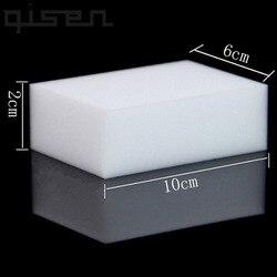 100 шт оптом белая волшебная губка, ластик Меламиновый очиститель, многофункциональная Очистка 100x60x20 мм 50 шт