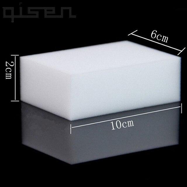 100 Pcs Groothandel White Magic Sponge Eraser Melamine Cleaner,multi Functionele Cleaning 100X60X20 Mm 50 Stuks