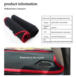 Image 4 - car dashboard avoid light pad instrument platform Desk Cover Mats Carpets For Peugeot 3008 2016 2017 2018 Automotive interior