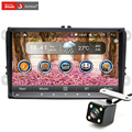 9 дюймов DVD радио аудио Android4.4.4 GPS четырехъядерный процессор 1024 * 600 для VW GOLF 4 5 поло-бора CC JETTA PASSAT Tiguan SKODA