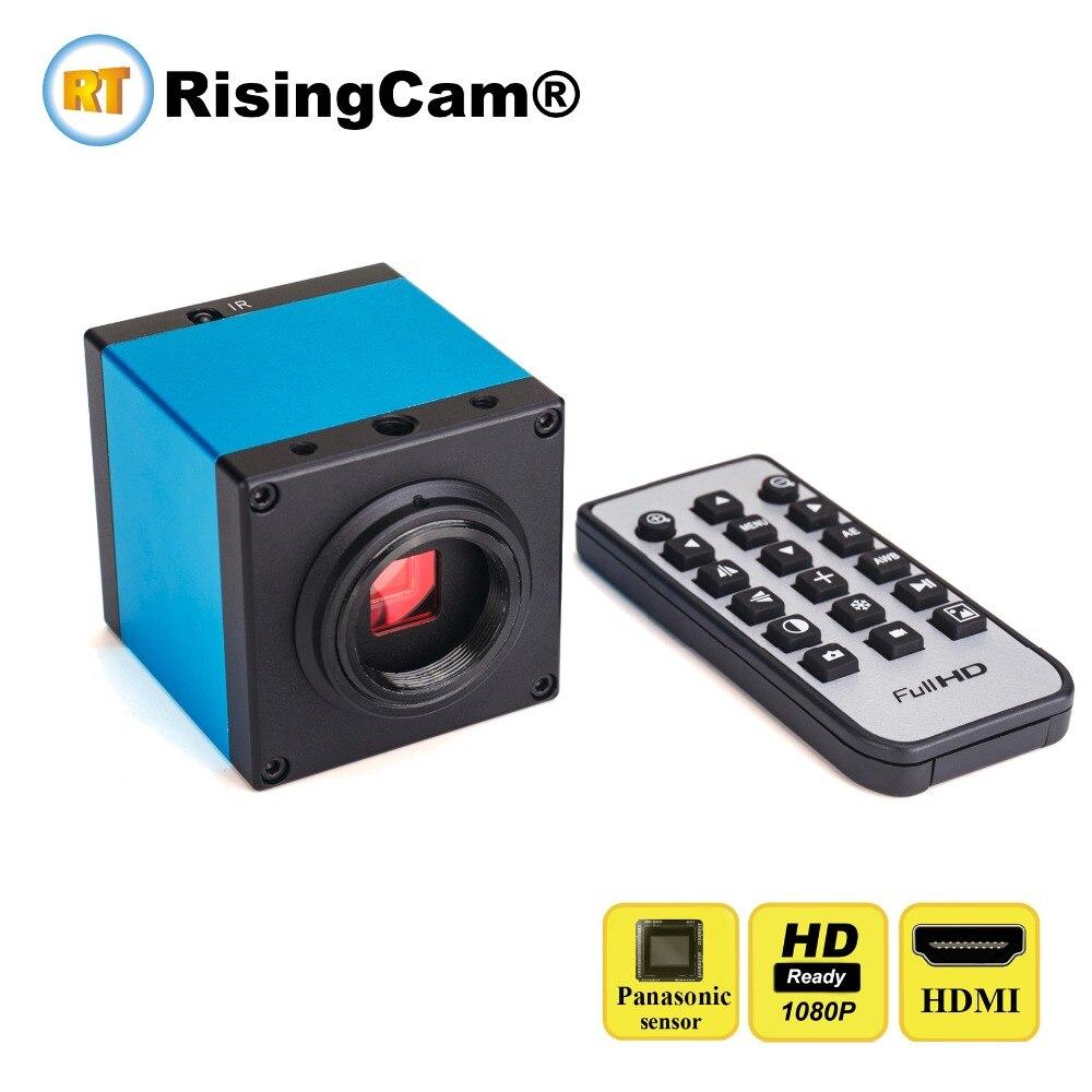 Remote Control Full HD 1080P 16MP HDMI USB C Mount Digital Video Microscope Camera For industrial