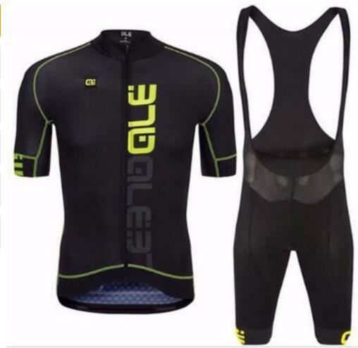 Prix pour Nouveau ALE Vélo Cycling Team Jersey sueur respirant À Séchage Rapide Équitation Usure Cyclisme Vêtements/vêtements de vélo et cuissard pantalon