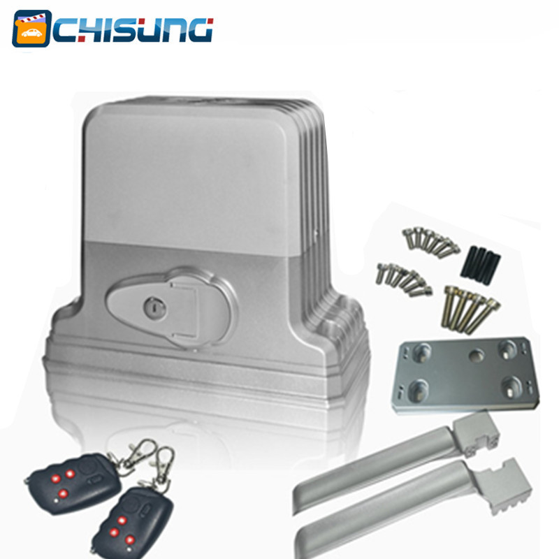 Sliding automatic and remote control gate opener for for Sliding gate opener motor